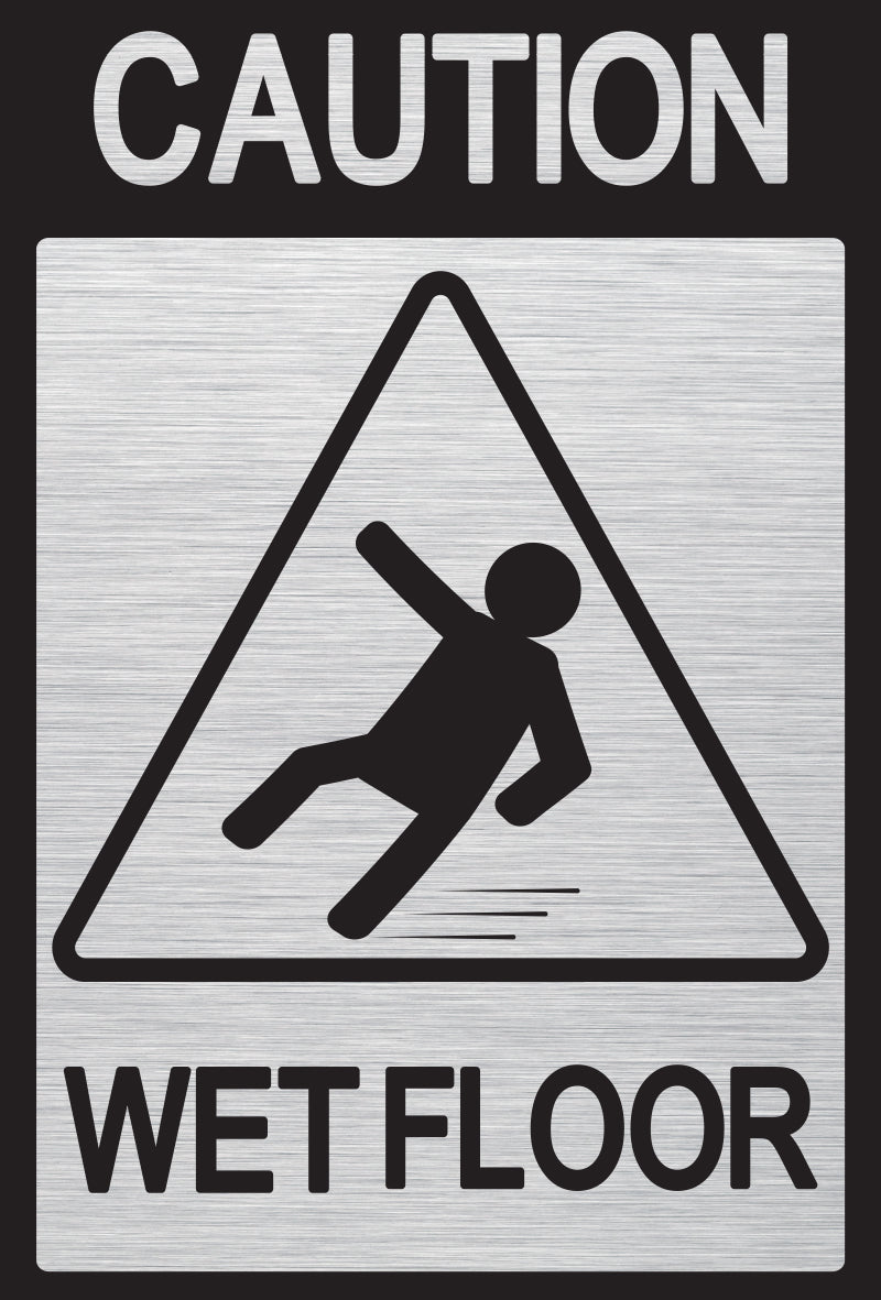 Caution Wet Floor 3
