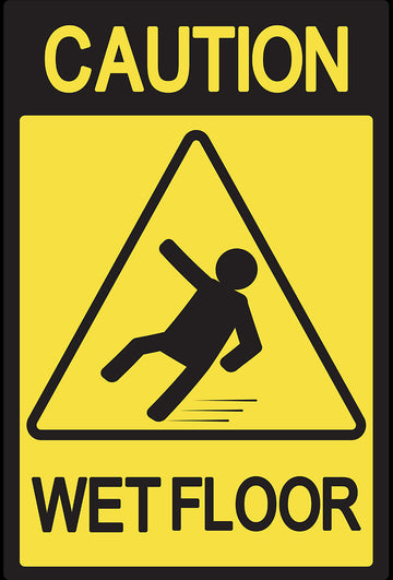 Caution Wet Floor 2