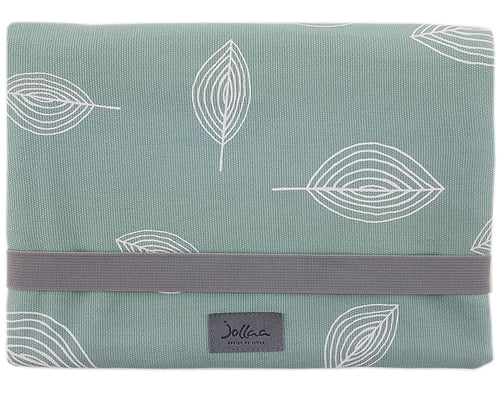 Windeltasche kleine Wickeltasche Windelclutch Canvas Mint JOLLAA