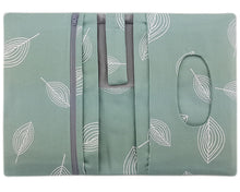 Laden Sie das Bild in den Galerie-Viewer, Windeltasche kleine Wickeltasche Windelclutch Canvas Mint JOLLAA
