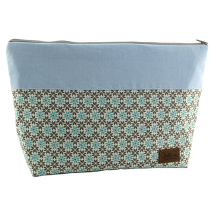 Windelbeutel Flower Mint Blau