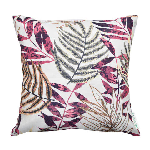 Tropical Leaves B343C -  Gối Tựa Lưng Sofa 45x45 cm