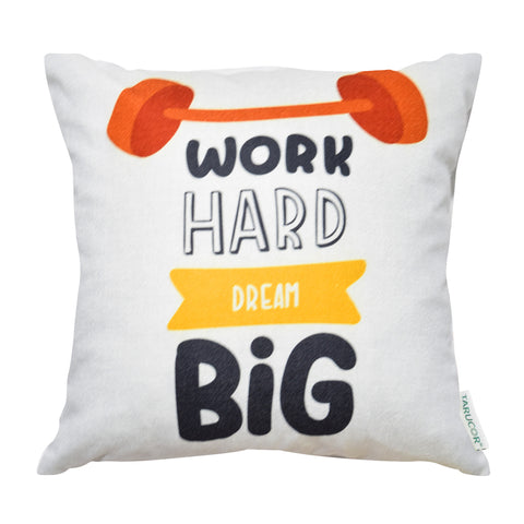 Work Hard Dream Big -  Gối Tựa Lưng Sofa 45x45 cm