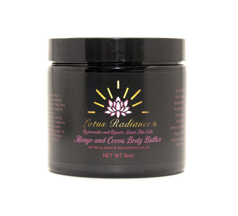 Mango + Cocoa Body Butter - Lotus Radiance