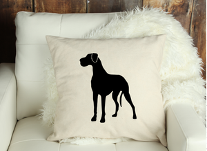 Floppy Great Dane Decorative Pillow Cover or Pillow