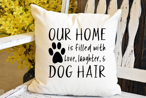 Our Home Decorative Pillow