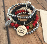 Go Dawgs Set of 4 Bracelets