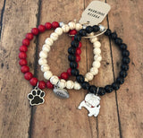 Go Dawgs Set of 3 Bracelets