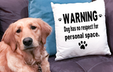No Personal Space Decorative Pillow