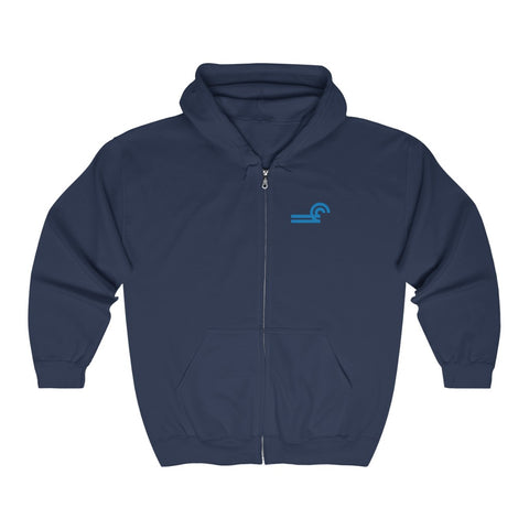 Conrail Zip-Up Sweatshirt (Roomy)