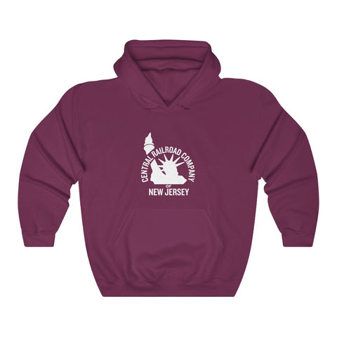 Central Railroad Company of New Jersey Roomy Hoodie