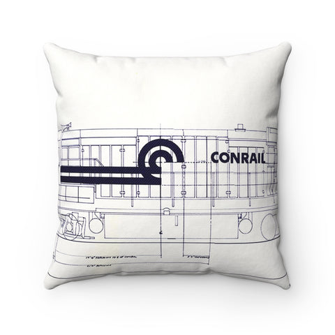 Conrail Engine Pillow