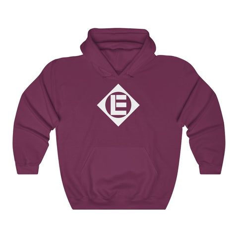 Erie Railroad Roomy Hoodie