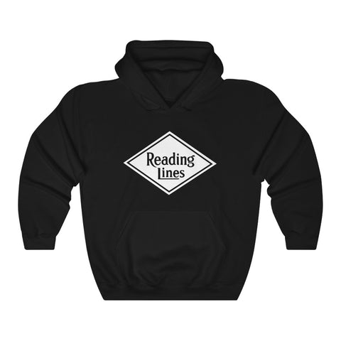 Reading Lines Roomy Hoodie