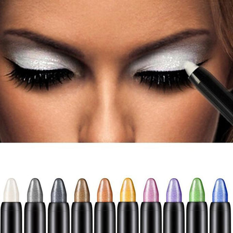 New 2018 Fashion High Quality Eye Shadow Pen Professional Beauty Highlighter Eyeshadow Pencil 116mm Wholesale and Drop Shipping
