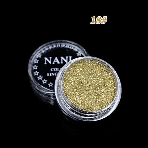 ELECOOL 24 Colors Optional Monochrome Eye Powder Shadow Women Beauty Eye Make Up Shinning Glitter Powder Makeup Palette TSLM1