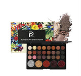 NAQIER Eye Makeup Nudes Palette 40 Color Matte Eyeshadow Pallete glitter powder Eye Shadows Earth brush set stamps pigment