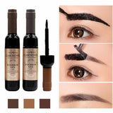1 Pcs Eyebrow Gel Black Coffee Gray Peel Off Eye Brow Tattoo Shadow Eyebrow Gel Cosmetics Makeup for Women High Pigment Makeup