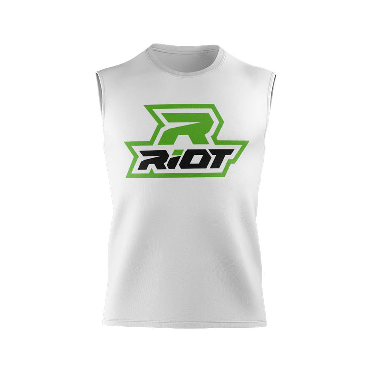 Lime Green Riot Logo