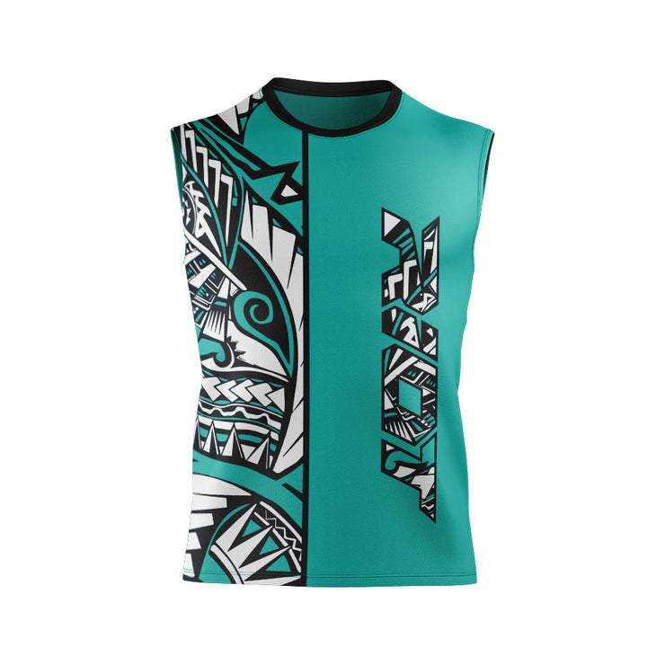 Tribal Full Dye Sleeveless Riot Jersey