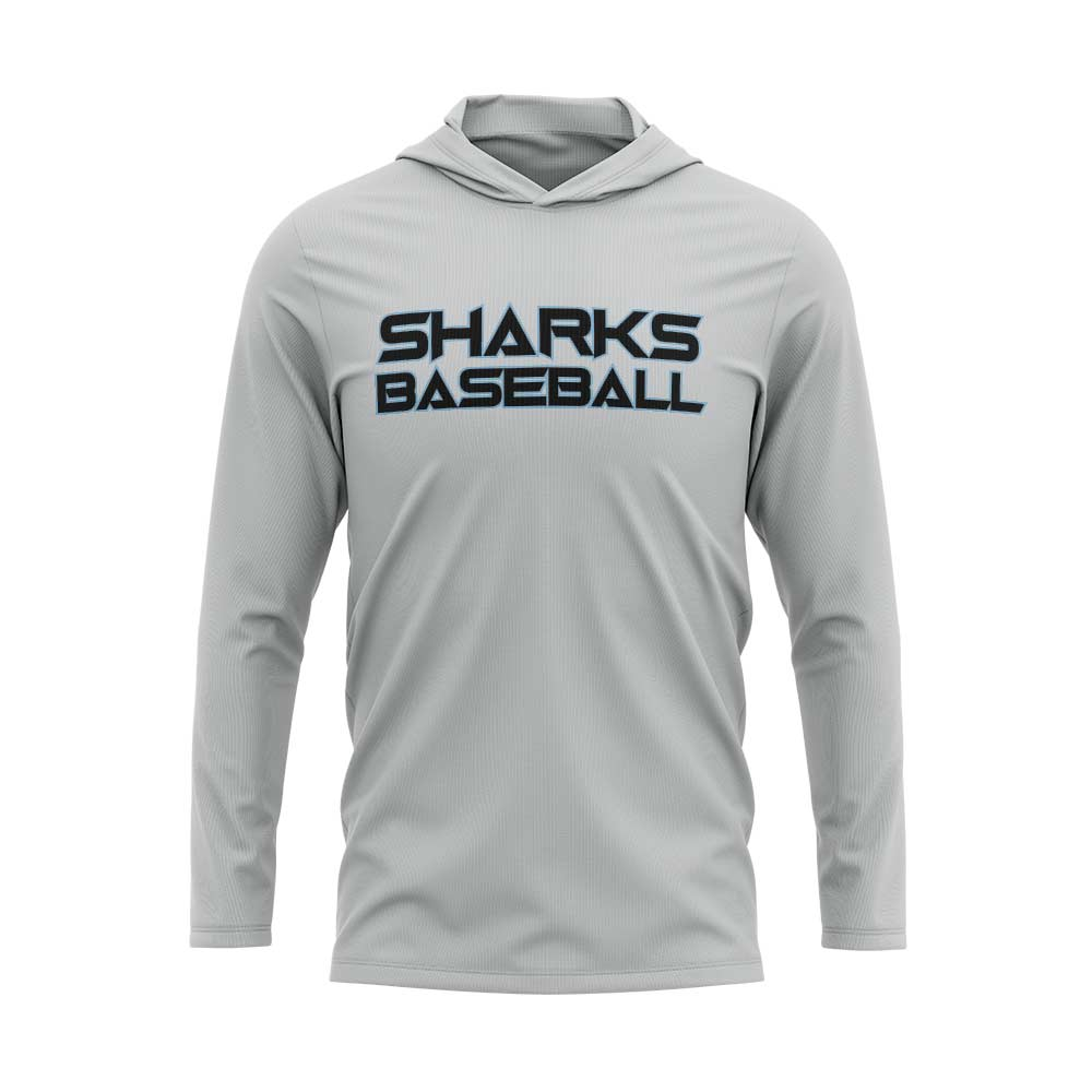 Sharks Baseball Logo