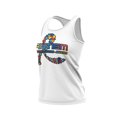 **BUY IN** Racerback Shirt with 2020 (#2) Autism Riot Logo