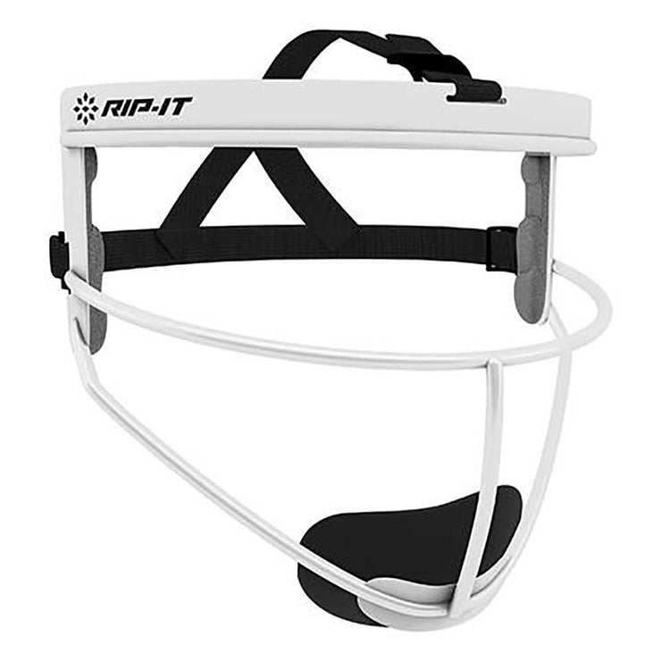 Rip-It Defense Softball Fielder's Mask - White