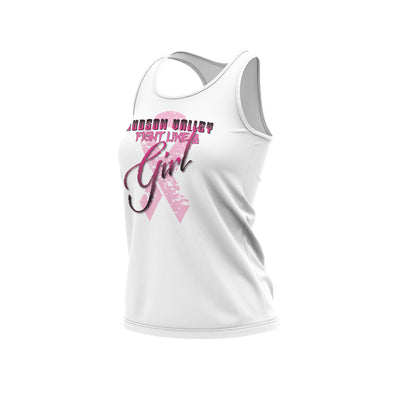 Hudson Valley Raptor BCA Racerback White Semi Dye