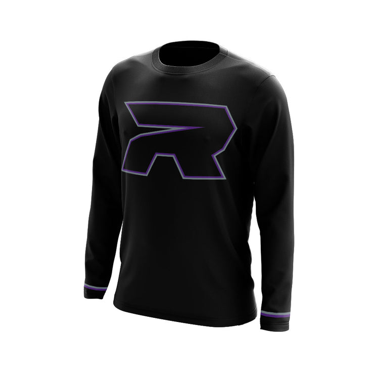 Touch of Purple Blackout Riot Full Dye Jersey - Long or Short Sleeve