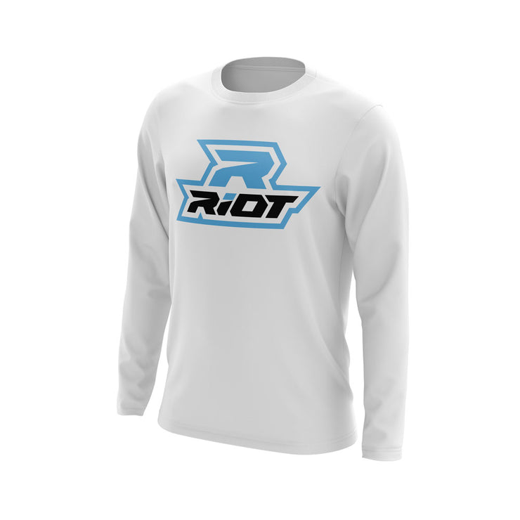 Customizable Long Sleeve with Riot Logo (choose your customizable options)
