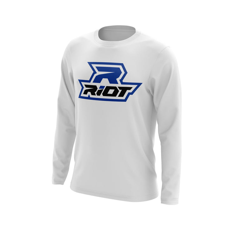 Royal Blue Riot Logo
