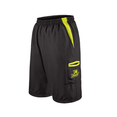 Black Shorts with Volt Riot Logo