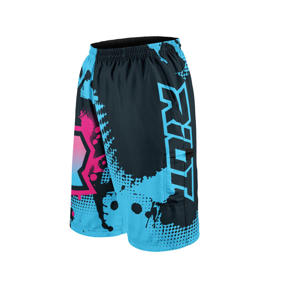 Summer Splash Full Dye Riot Shorts