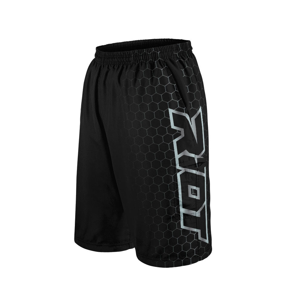 Blackout Full Dye Riot Shorts