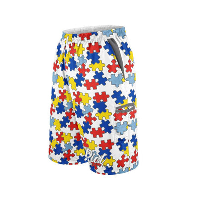 2021 Autism Full Dye Riot Microfiber Shorts Preorder
