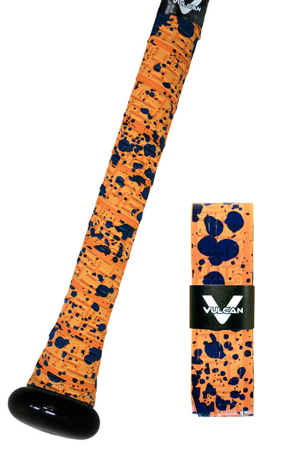 Orange Splatter Vulcan Grip