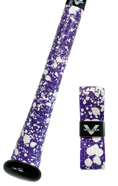 Purple Splatter Vulcan Grip