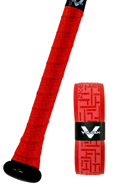 Bright Red Vulcan Grip