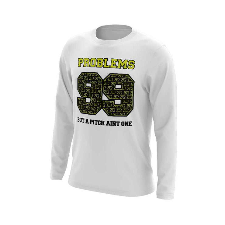 **NEW** Long Sleeve with 99 Problems Riot Logo (choose your shirt color)