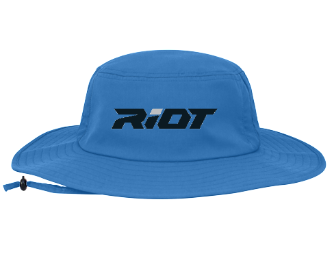 f0b12b72e93 Royal Blue Bucket Hat (1946) with Black Riot Logo – Riot Sports Gear