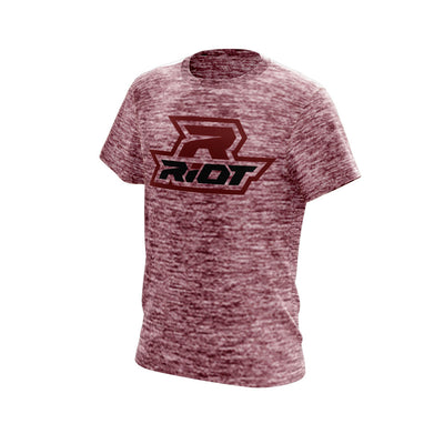 Maroon Electric Short Sleeve with Maroon Riot Logo