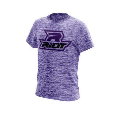 Purple Electric Short Sleeve with Purple Riot Logo