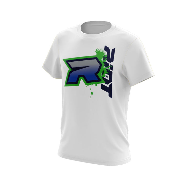 Blue Green Riot Logo
