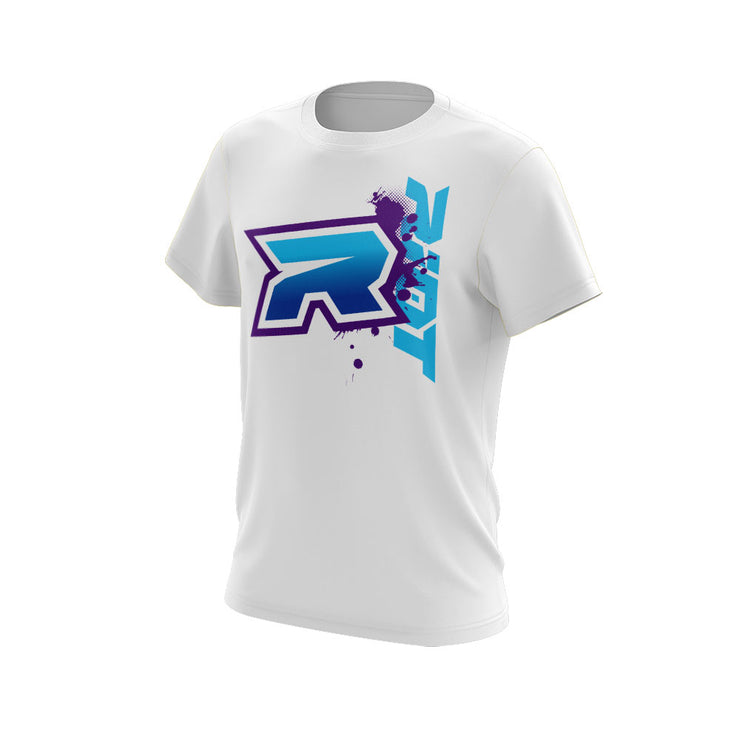 Blue Purple Riot Logo