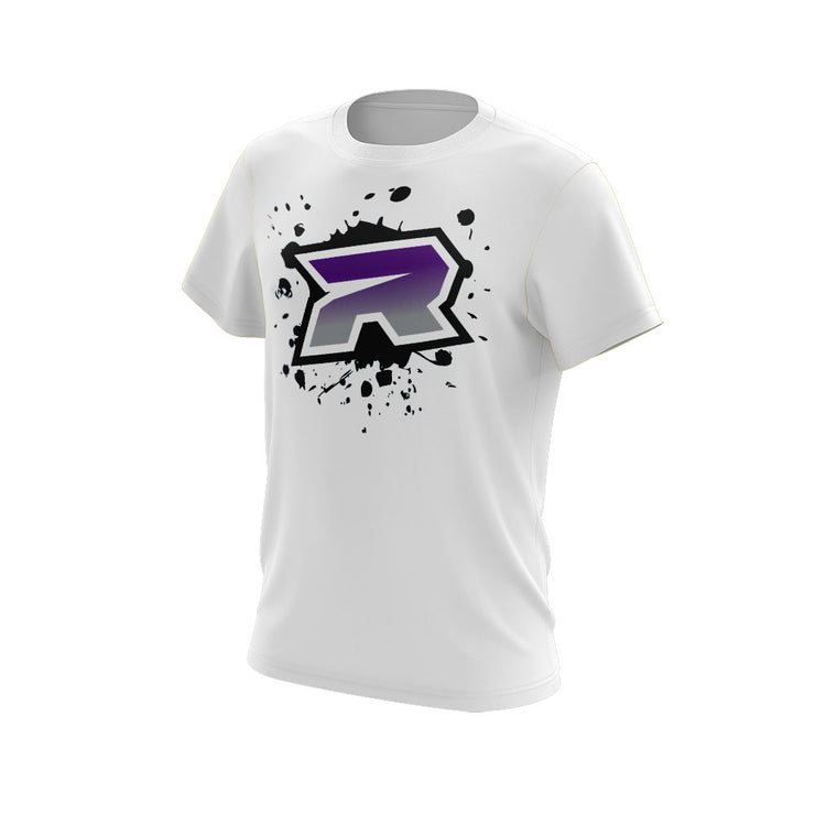 Purple Grey Riot Logo