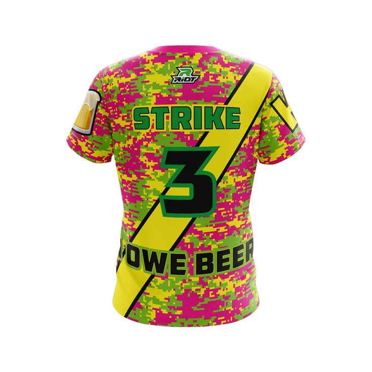Strikeout King Full Dye Short Sleeve Riot Jersey
