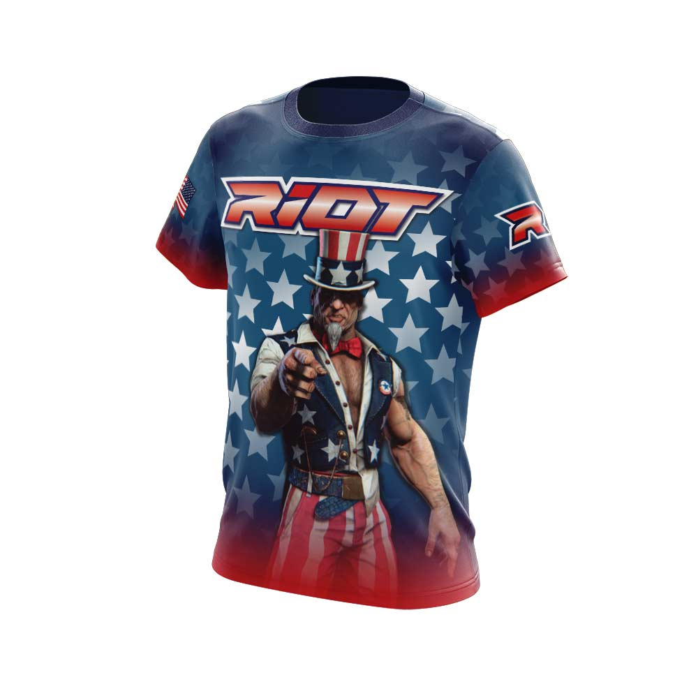 Uncle Sam Full Dye Short Sleeve Riot Jersey