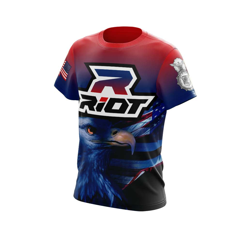 Eagle Full Dye Short Sleeve Riot Jersey