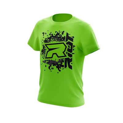 **NEW** Highlighter Series Neon Green Short Sleeve with Riot Logo