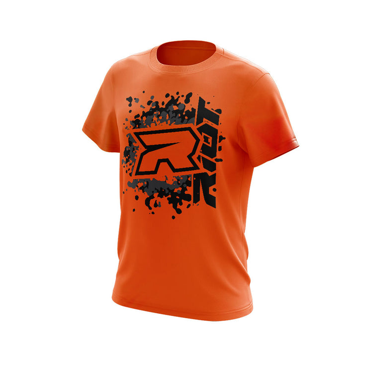 **NEW** Highlighter Series Neon Orange Short Sleeve with Riot Logo